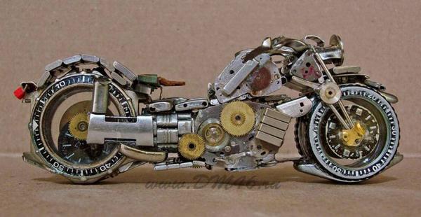 Мотоциклов мотоциклы из часов модели